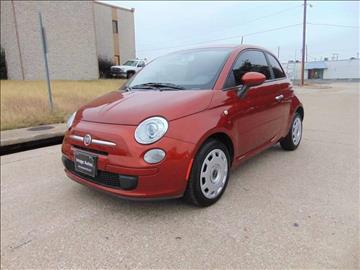 2012 FIAT 500 for sale at Image Auto Sales in Dallas TX
