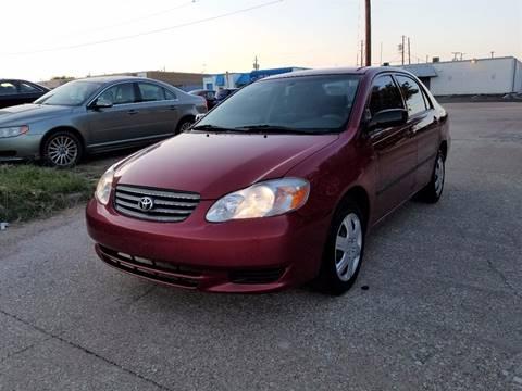2004 Toyota Corolla for sale at Image Auto Sales in Dallas TX