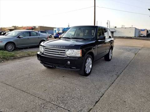 2007 Land Rover Range Rover for sale at Image Auto Sales in Dallas TX