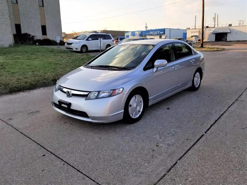 2008 honda civic hybrid in dallas tx image auto sales. Black Bedroom Furniture Sets. Home Design Ideas