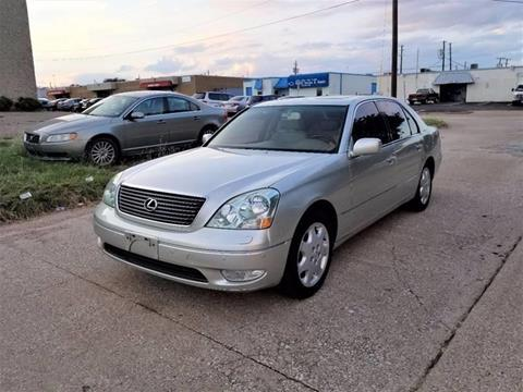 2003 Lexus LS 430 for sale at Image Auto Sales in Dallas TX