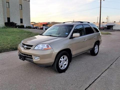 2002 Acura MDX for sale at Image Auto Sales in Dallas TX