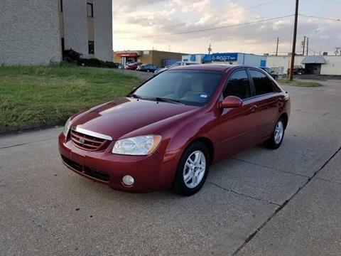 2005 Kia Spectra for sale at Image Auto Sales in Dallas TX
