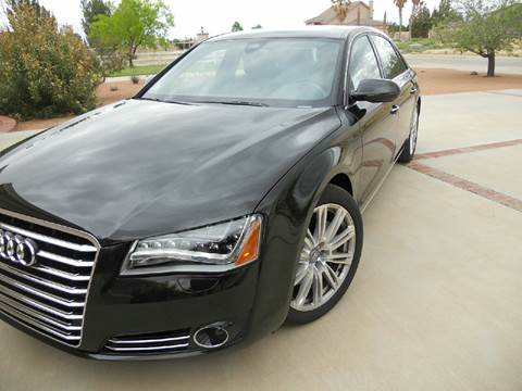 2013 Audi A8 L for sale at Image Auto Sales in Dallas TX