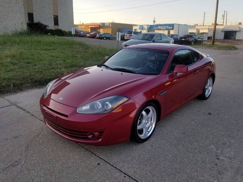 Lovely 2007 Hyundai Tiburon For Sale At Image Auto Sales In Dallas TX
