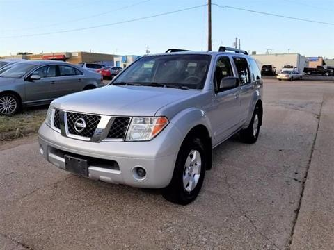 2006 Nissan Pathfinder for sale at Image Auto Sales in Dallas TX
