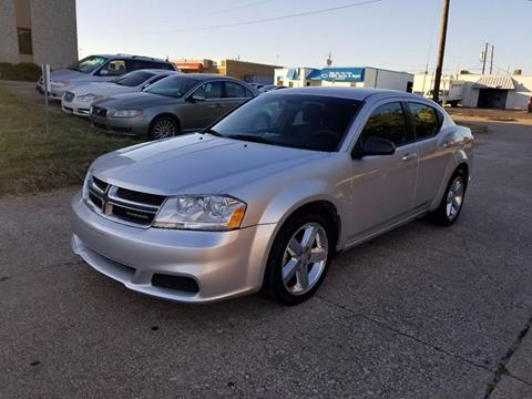2012 Dodge Avenger for sale at Image Auto Sales in Dallas TX