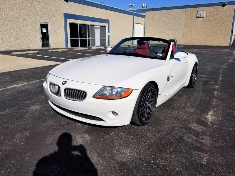 2003 BMW Z4 for sale at Image Auto Sales in Dallas TX