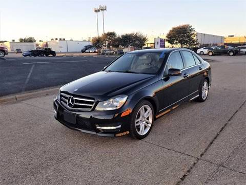 2014 Mercedes-Benz C-Class for sale at Image Auto Sales in Dallas TX