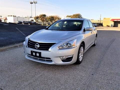 2015 Nissan Altima for sale at Image Auto Sales in Dallas TX