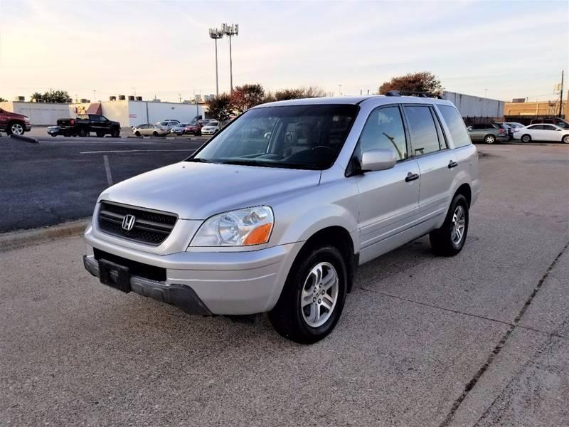 2003 Honda Pilot For Sale At Image Auto Sales In Dallas TX