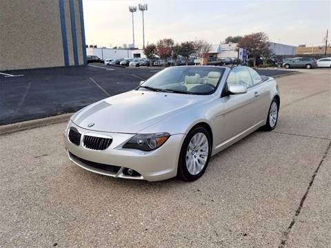 2004 BMW 6 Series for sale at Image Auto Sales in Dallas TX