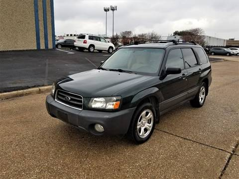 2004 Subaru Forester for sale at Image Auto Sales in Dallas TX