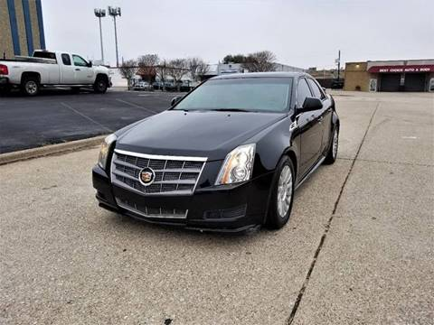 2010 Cadillac CTS for sale at Image Auto Sales in Dallas TX