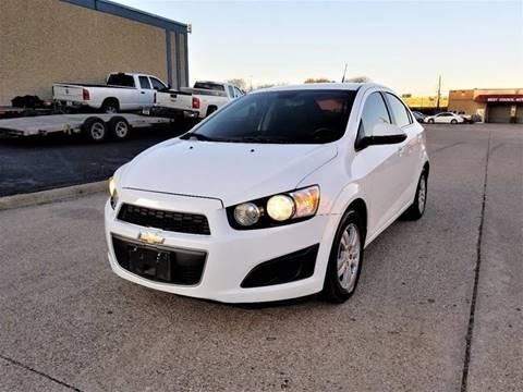 2013 Chevrolet Sonic for sale at Image Auto Sales in Dallas TX