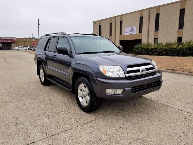 Toyota Runner SR In Dallas TX Image Auto Sales - 2005 4runner
