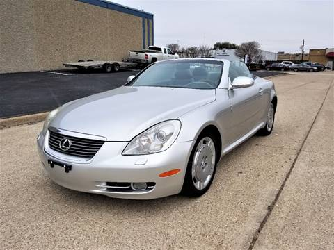 2006 Lexus SC 430 for sale at Image Auto Sales in Dallas TX