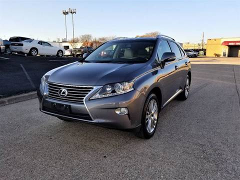 2013 Lexus RX 350 for sale at Image Auto Sales in Dallas TX