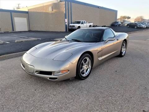 2001 Chevrolet Corvette for sale at Image Auto Sales in Dallas TX