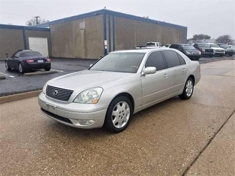 2003 Lexus LS 430 for sale at Image Auto Sales in Dallas TX