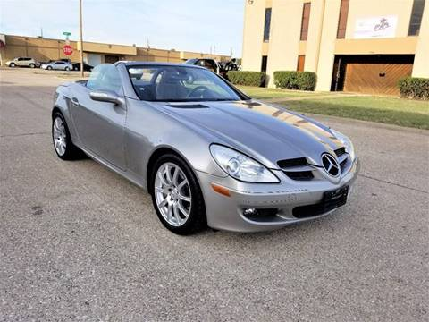 2006 Mercedes-Benz SLK for sale at Image Auto Sales in Dallas TX