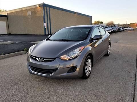 2012 Hyundai Elantra for sale at Image Auto Sales in Dallas TX