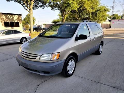 2003 Toyota Sienna for sale at Image Auto Sales in Dallas TX