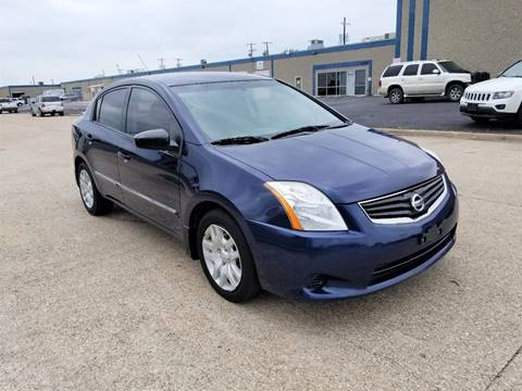 2012 Nissan Sentra for sale at Image Auto Sales in Dallas TX