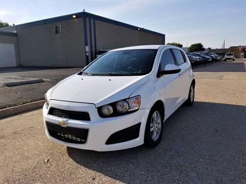 2012 Chevrolet Sonic for sale at Image Auto Sales in Dallas TX
