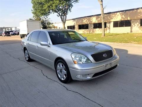 2002 Lexus LS 430 for sale at Image Auto Sales in Dallas TX
