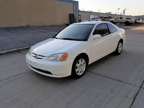 2002 Honda Civic for sale at Image Auto Sales in Dallas TX