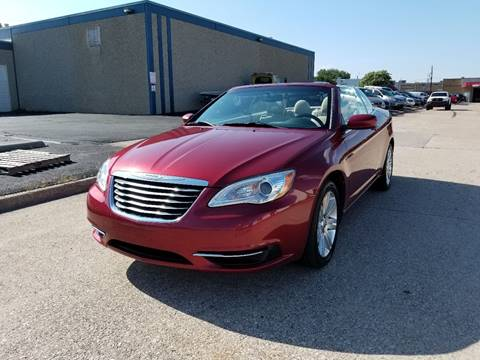 2011 Chrysler 200 Convertible for sale at Image Auto Sales in Dallas TX