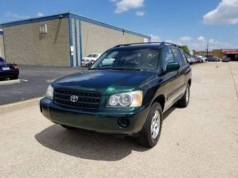 2002 Toyota Highlander for sale at Image Auto Sales in Dallas TX