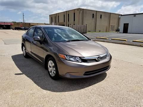 2012 Honda Civic for sale at Image Auto Sales in Dallas TX