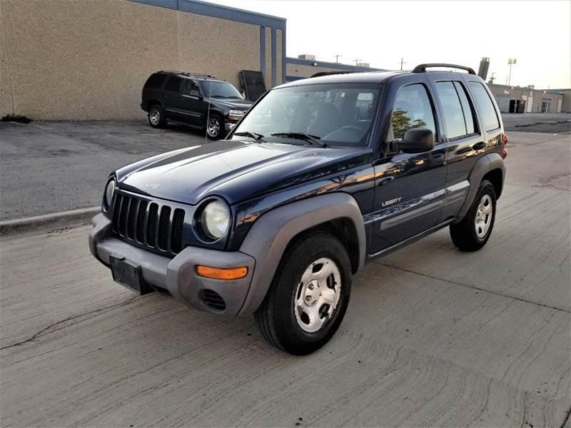 2004 Jeep Liberty for sale at Image Auto Sales in Dallas TX