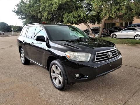 2008 Toyota Highlander for sale at Image Auto Sales in Dallas TX