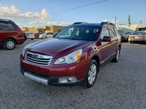 2012 Subaru Outback for sale at Image Auto Sales in Dallas TX
