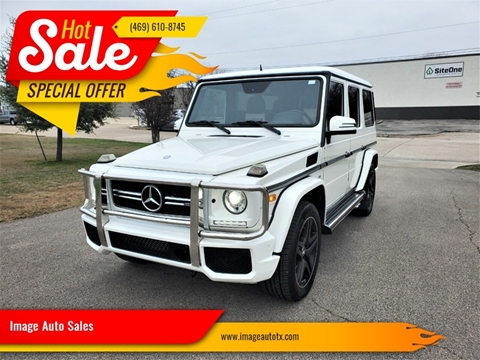 2015 Mercedes-Benz G-Class G 63 AMG for sale at Image Auto Sales in Dallas TX