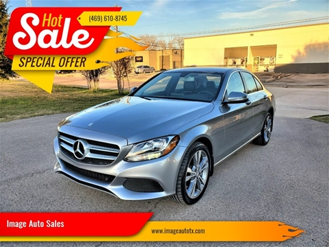 2015 Mercedes-Benz C-Class C 300 4MATIC for sale at Image Auto Sales in Dallas TX