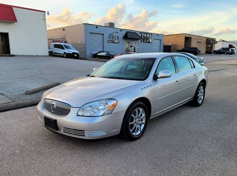 2007 Buick Lucerne CXL V8 for sale at Image Auto Sales in Dallas TX