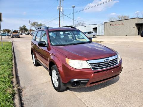2010 Subaru Forester 2.5X for sale at Image Auto Sales in Dallas TX
