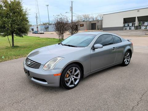 2004 Infiniti G35 for sale at Image Auto Sales in Dallas TX