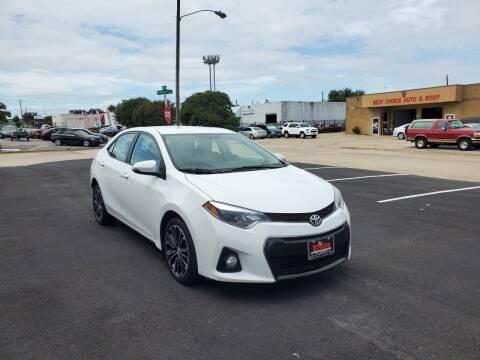 2016 Toyota Corolla for sale at Image Auto Sales in Dallas TX