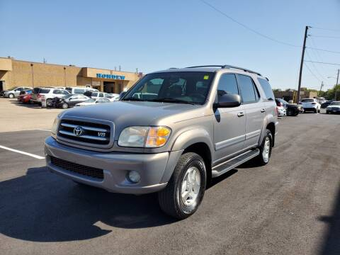 2002 Toyota Sequoia for sale at Image Auto Sales in Dallas TX
