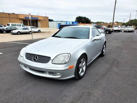 2001 Mercedes-Benz SLK for sale at Image Auto Sales in Dallas TX