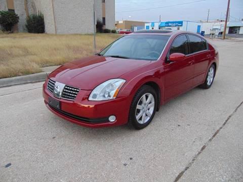 2004 Nissan Maxima for sale at Image Auto Sales in Dallas TX