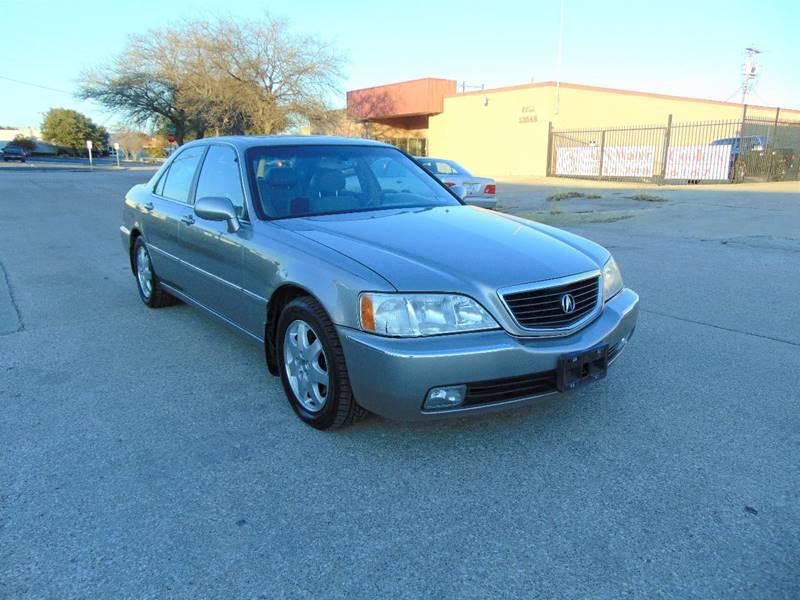 2002 Acura RL for sale at Image Auto Sales in Dallas TX