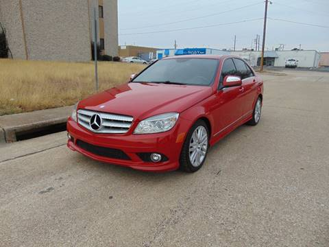 2008 Mercedes-Benz C-Class for sale at Image Auto Sales in Dallas TX