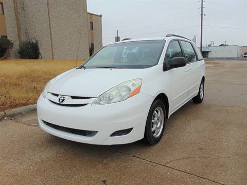 2007 Toyota Sienna for sale at Image Auto Sales in Dallas TX