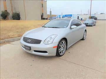2006 Infiniti G35 for sale in Dallas, TX